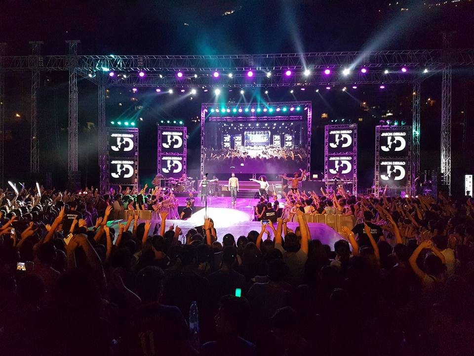 Jason Derulo in Lebanon