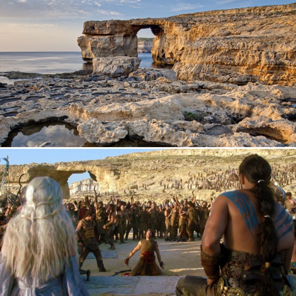 Game of Thrones set Malta