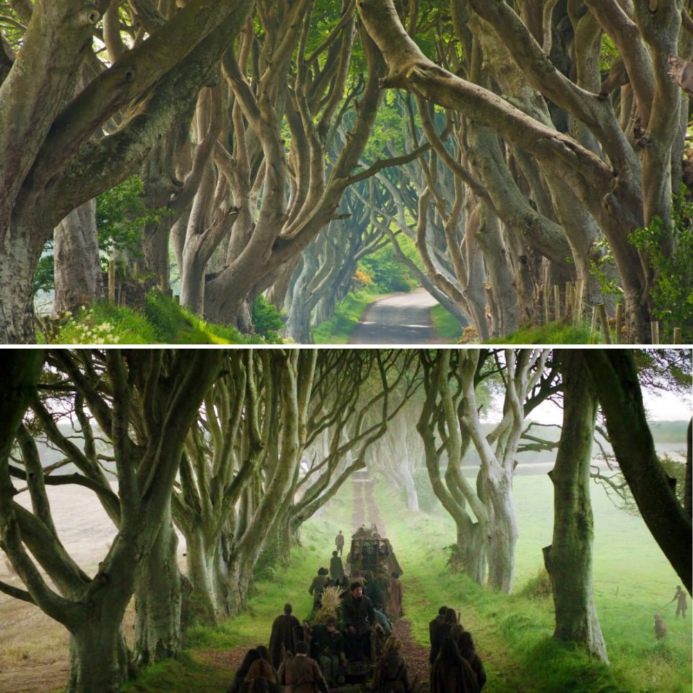 Northern Ireland Game of Thrones location set