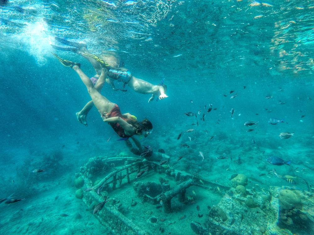 Curacao snorkle