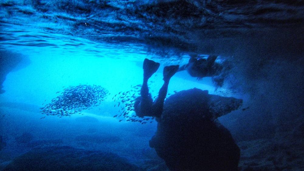 Blue  Cave Curacao