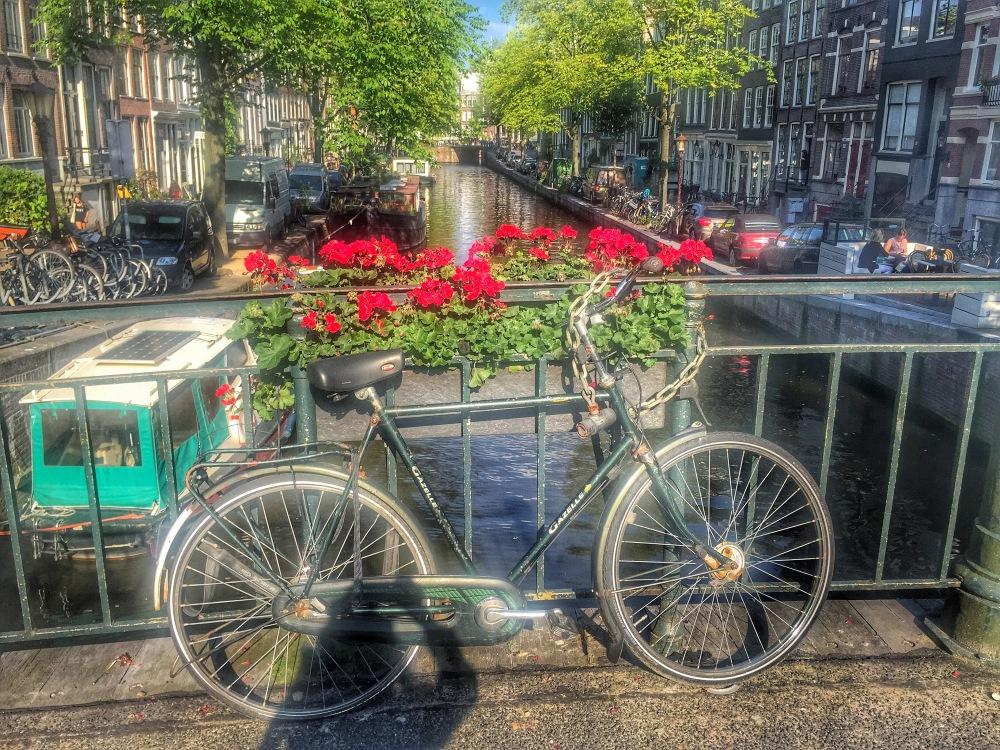 Amsterdam bike city